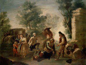 Goya, Attaque de la diligence