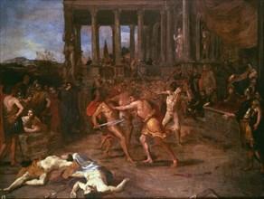 Camassei, Combat de gladiateurs