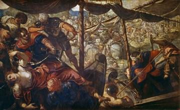 Le Tintoret, Episode d'une bataille entre des Turcs et des chrétiens