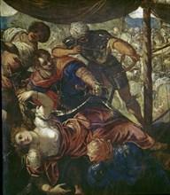 Le Tintoret, Détail de la Bataille entre Turcs et chrétiens