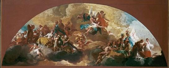 Goya, Coupole Regina Martyrum