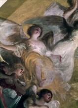 Goya, Détail de la coupole