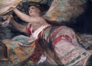 Goya, Fresque de la coupole Regina Martyrum (détail)