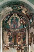 Tahull, Peinture murale de l'abside de Santa Maria
