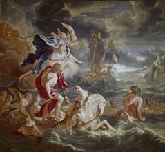 Houasse, Tapisserie de Neptune
