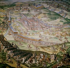 Bataille de Saint Quentin - août 1557