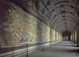 Salle des batailles du monastère de l'Escurial