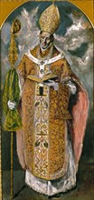 Le Greco, Saint Ildefonse ou Saint Eugène