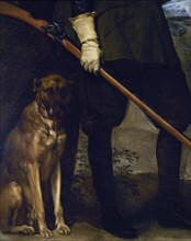 Velázquez, Philip IV in Hunting Outfit (detail)
