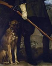 Vélasquez, Philippe IV en tenue de chasse (détail)