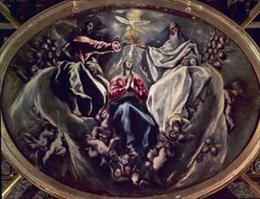 Le Greco, Couronnement de la Vierge