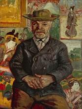 Van Gogh, Portrait du Père Tanguy