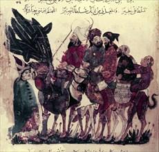 Al Wasiti, Caravane de pélerins
