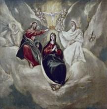 Le Greco, Le Couronnement de la Vierge