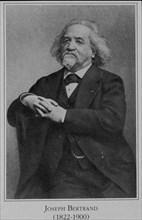 Portrait de Joseph François Louis Bertrand