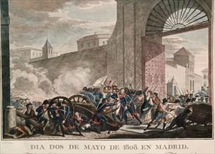 Le 2 mai 1808, Daoiz et Velarde meurent en défendant le parc d'artillerie