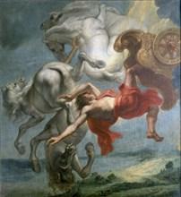Van Eyck, La Chute de Phaéton