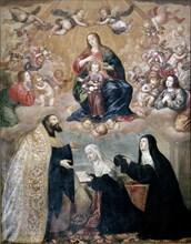 Pereda, Profession de foi d'Anne Marguerite d'Autriche