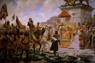 Moreno Carbonero, Roger de Flor à Constantinople