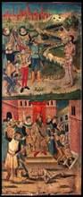 Benabarre, Martyre de saint Sébastien et saint Polycarpe
