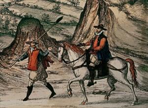 Braun et Hogenberg, Civitates Orbis Terrarum: Loja