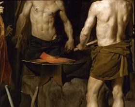 Velázquez, Vulcan's Forge (detail)