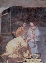 Goya, Fresques - l'Adoration des Rois Mages