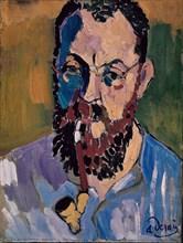 Derain, Portrait de Henri Matisse