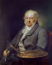 Lopez, Portrait de Goya à 80 ans