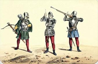 Arbalétriers et couleuvriniers de l'année 1493