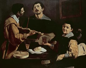 Velázquez, The musicians