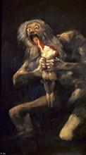 Goya, Saturne dévorant l'un de ses enfants