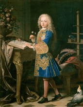 Ranc, Charles III enfant étudiant la botanique