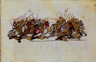 Skylitzès, Bataille