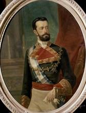 Portrait d'Amédée de Savoie, duc d'Aoste