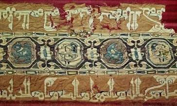 Bande de tissu brodé, 10e siècle