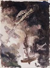 Kemer, Combat aérien entre avions de chasse