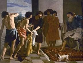Velasquez, Jacob recevant la tunique de Joseph
