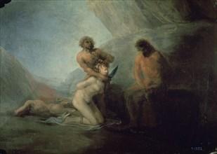 Goya, L'égorgement