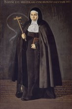 Vélasquez, La Vénérable Mère Jeronima de la Fuente
