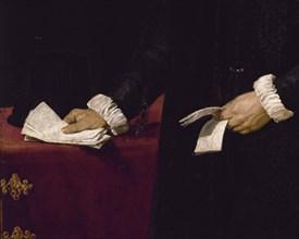 Vélasquez, Portrait de Diego del Corral y Arellano (détail)