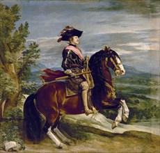 Velázquez, Equestrian portrait of Philip IV of Spain