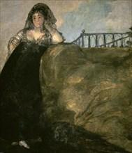 Goya, Femme du peuple madrilène