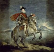 Velázquez, Equestrian portrait of Philip III of Spain