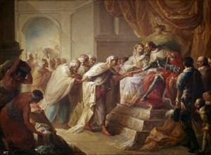 Lopez, Les rois catholiques recevant les ambassadeurs de Fez