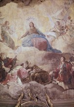 Goya, Coupole Regina Martyrum (détail)