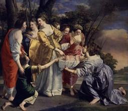 Gentileschi, Moïse sauvé des eaux du Nil