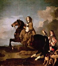 Bourdon, Christine de Suède à cheval
