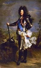 Rigaud, Portrait de Louis XIV