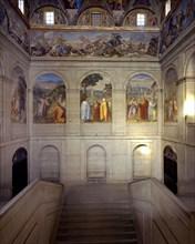 Giordano, Escalier principal de l'Escurial (intérieur)